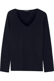 The Row Dory cashmere and silk-blend sweater