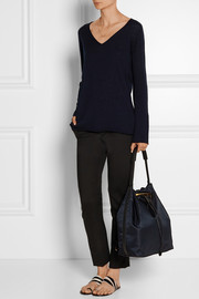 Dory cashmere and silk-blend sweater