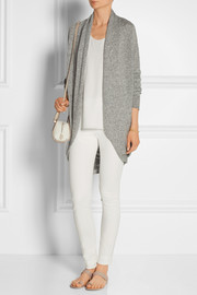 The Row Caro draped cashmere and silk-blend cardigan