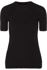 Edel ribbed cashmere top