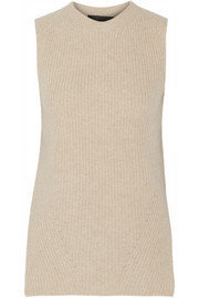 The Row Tippi ribbed merino wool top