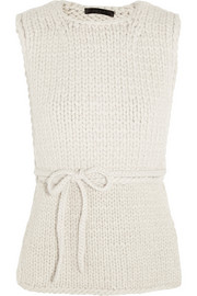 The Row Ori merino wool and cashmere-blend vest