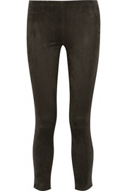 Relton suede leggings