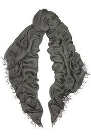 Tomas Maier Modal, cashmere and silk-blend scarf