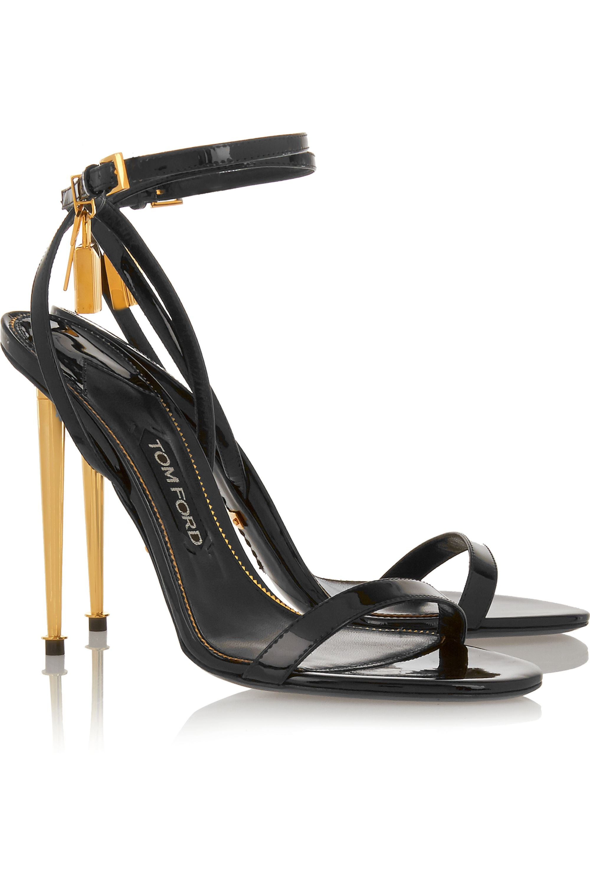 TOM FORD Patent-leather sandals