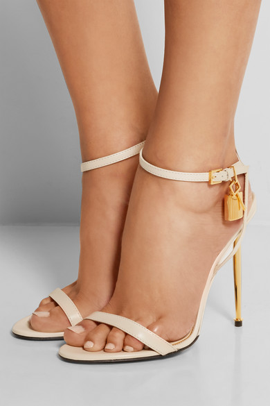 e92217fa2d4f TOM FORD. Leather sandals