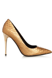 Tom Ford Metallic python pumps