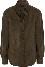Classic suede shirt