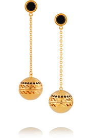 Kilian Studio 54 gold-plated scented earrings