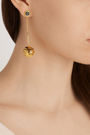 Studio 54 gold-plated scented earrings