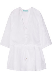 Cosima embroidered muslin dress
