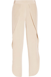 Toulon silk wide-leg pants