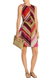 Crochet-knit dress