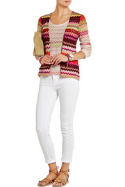 Missoni Crochet-knit cardigan and tank set
