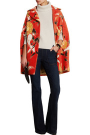 Missoni Intarsia wool-blend cape