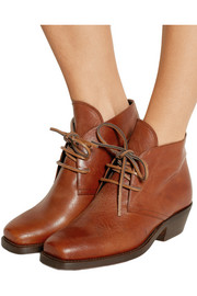 Norway leather ankle boots