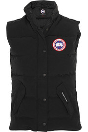 Freestyle shell-twill down gilet