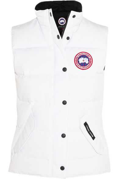 'Freestyle' Slim Fit Down Vest (Online Only), White