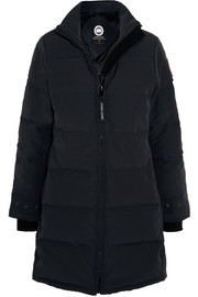 Heatherton quilted shell down coat