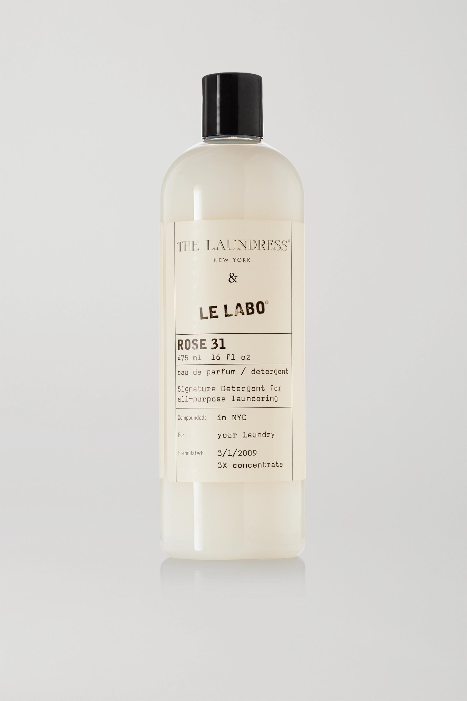 The Laundress + Le Labo Rose 31 Signature Detergent, 475ml