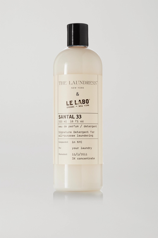 The Laundress + Le Labo Santal 33 Signature Detergent, 475ml