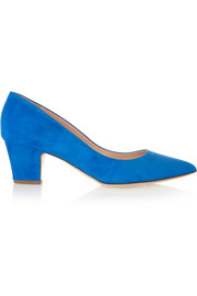Pierre suede pumps