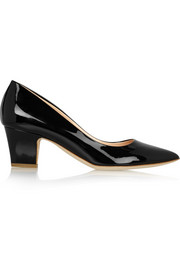 Pierre patent-leather pumps