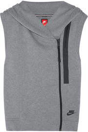 Tech Fleece cotton-blend jersey vest