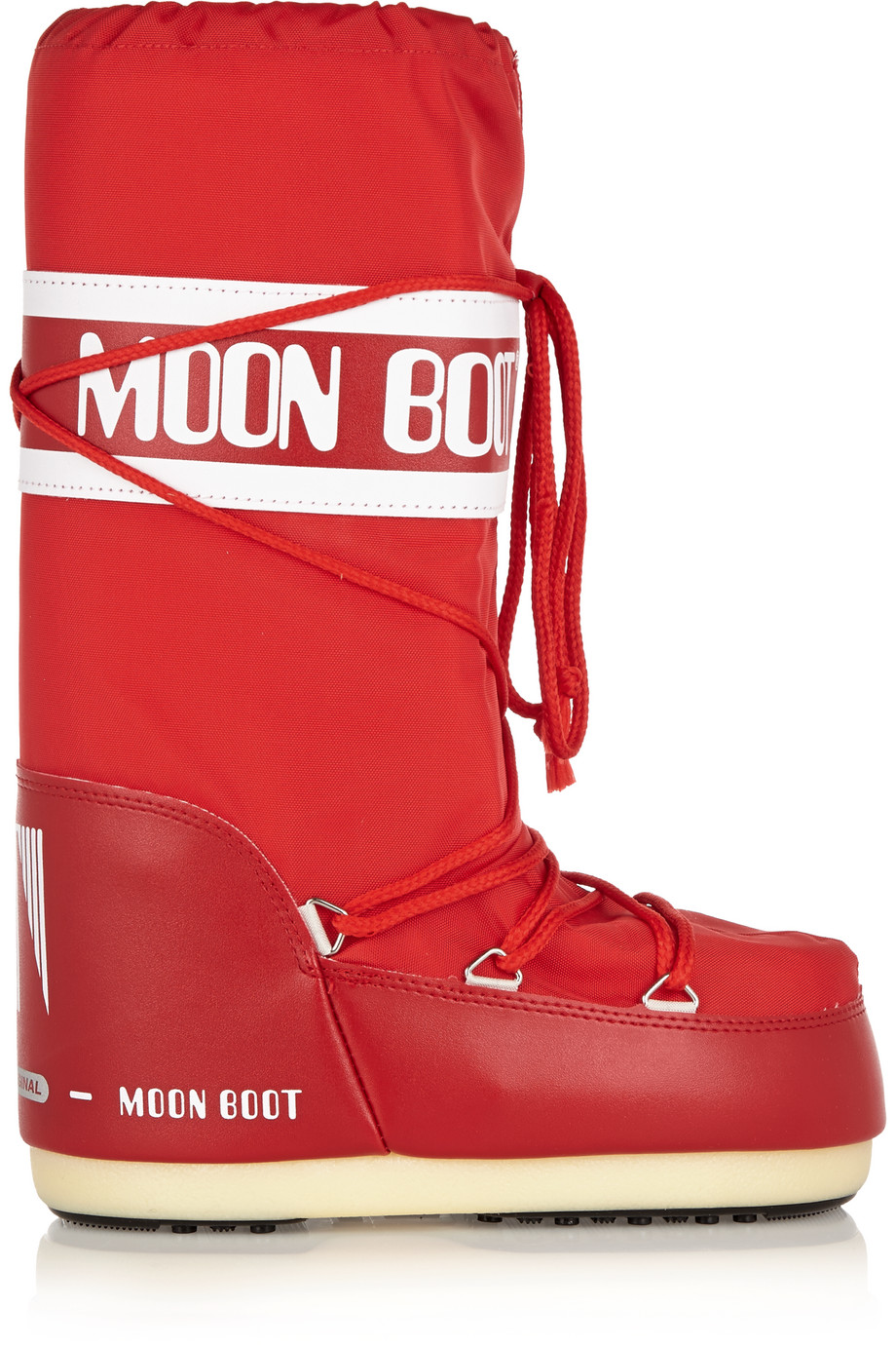 Moon Boot Piqué-Shell and Faux Leather Boots, Size: 35/38