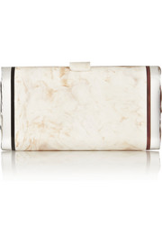 Lara Backlit acrylic clutch