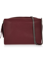 Soleil leather shoulder bag