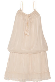 Elizabeth and James Kenji silk-georgette mini dress