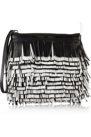 Proenza Schouler Fringed leather clutch