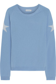 Star-intarsia cashmere sweater