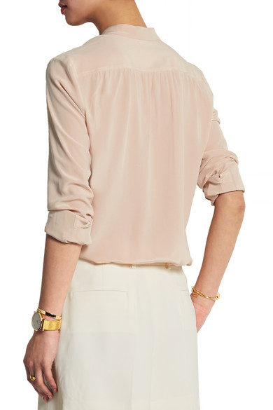266582462c17f Joseph. Carly silk crepe de chine blouse.  285.18. Play