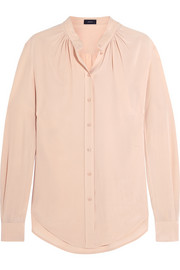Carly silk crepe de chine blouse