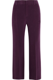 Lynval washed-silk wide-leg pants