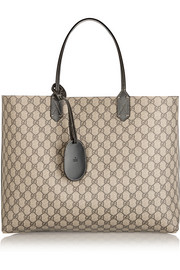 Gucci Turnaround large reversible bonded leather tote