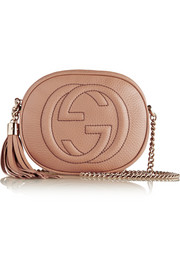Gucci Soho mini textured-leather shoulder bag