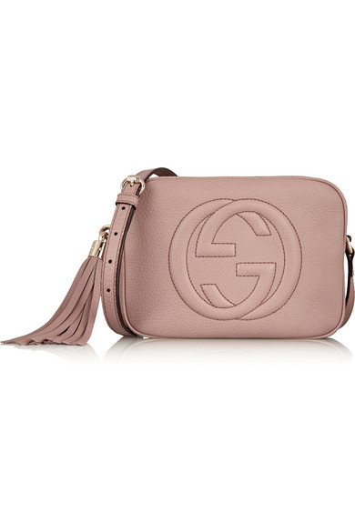 Gucci. Soho Disco textured-leather shoulder bag 12aa8702ebbb9