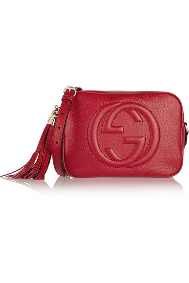 64eef7b5da7d Gucci | Soho Disco textured-leather shoulder bag | NET-A-PORTER.COM
