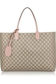 Gucci Turnaround large reversible bonded-leather tote