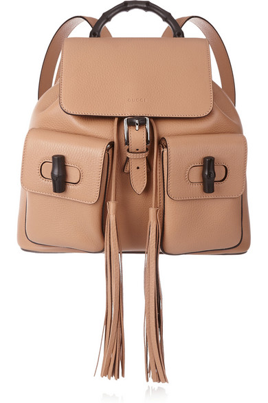 90974bf5843e Gucci   Bamboo Sac textured-leather backpack   NET-A-PORTER.COM