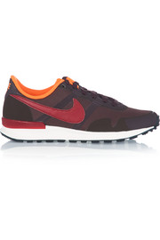 Air Pegasus 83/30 mesh, rubber and leather sneakers