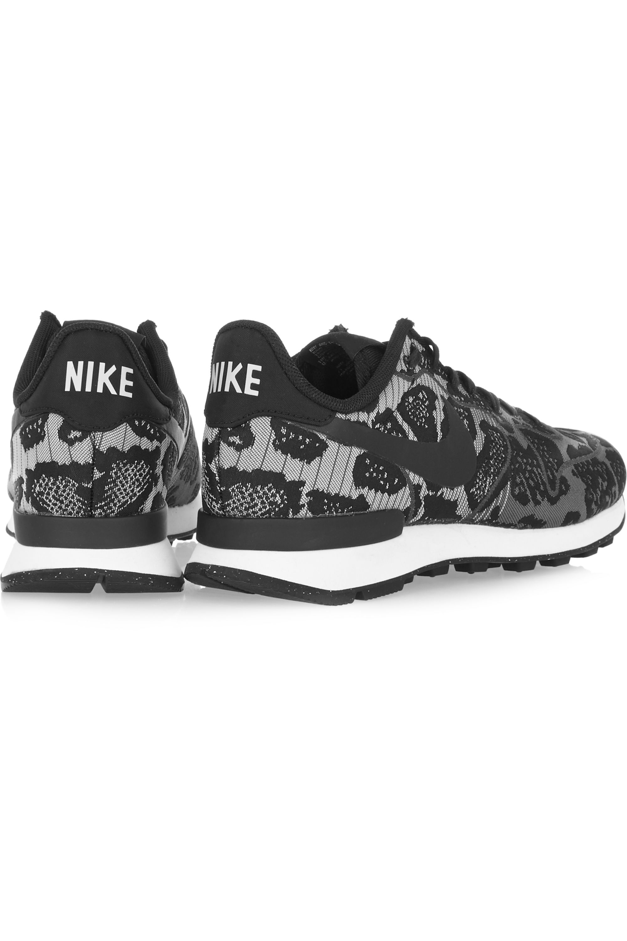 Nike Internationalist leopard-print jacquard sneakers