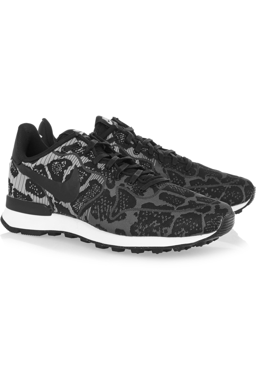 Nike Internationalist leopard-print jacquard sneakers