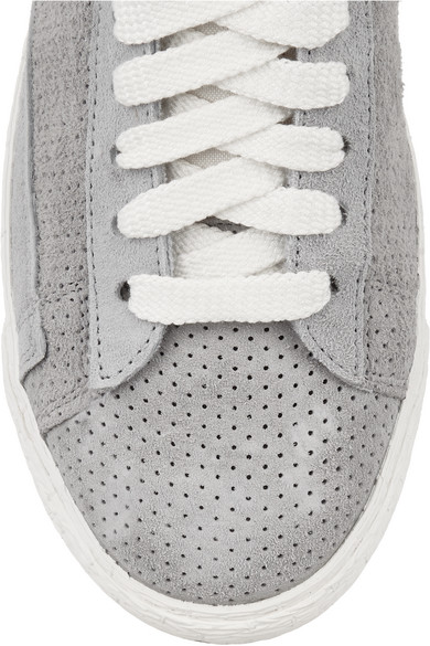 sports shoes 68c5f 745fd Nike. Blazer perforated suede high-top sneakers.  70. Zoom In