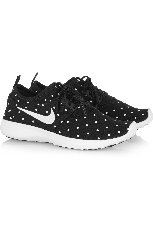 Nike Juvenate polka-dot mesh sneakers