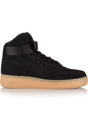 Air Force 1 Hi suede sneakers