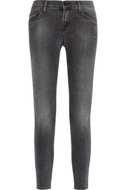 9227 cropped mid-rise skinny jeans